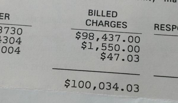 James J  Hamilton: Cheapskate Patient Gets $100k Surgery And