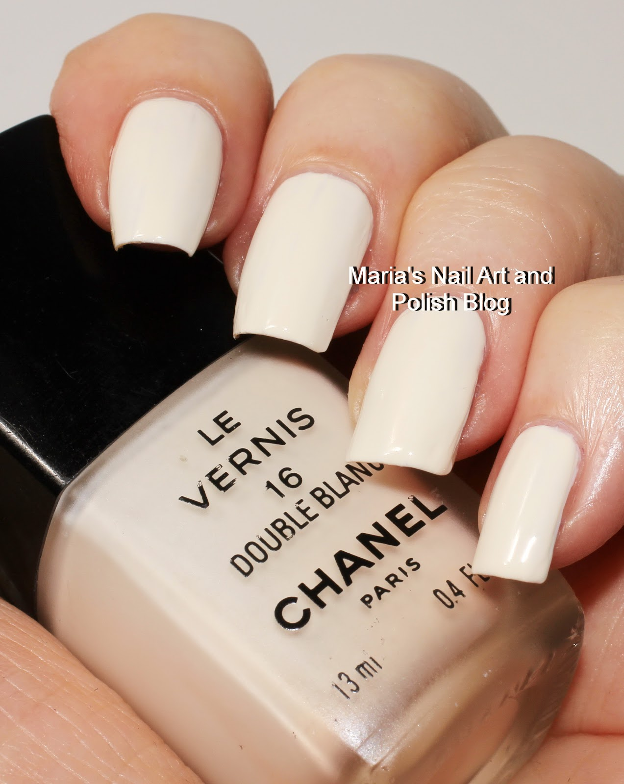 Chanel Double Blanc 16 Swatches