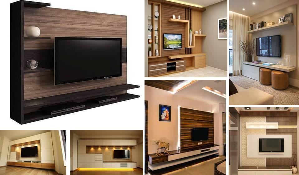 Fancy  Best Units Designs Around TV