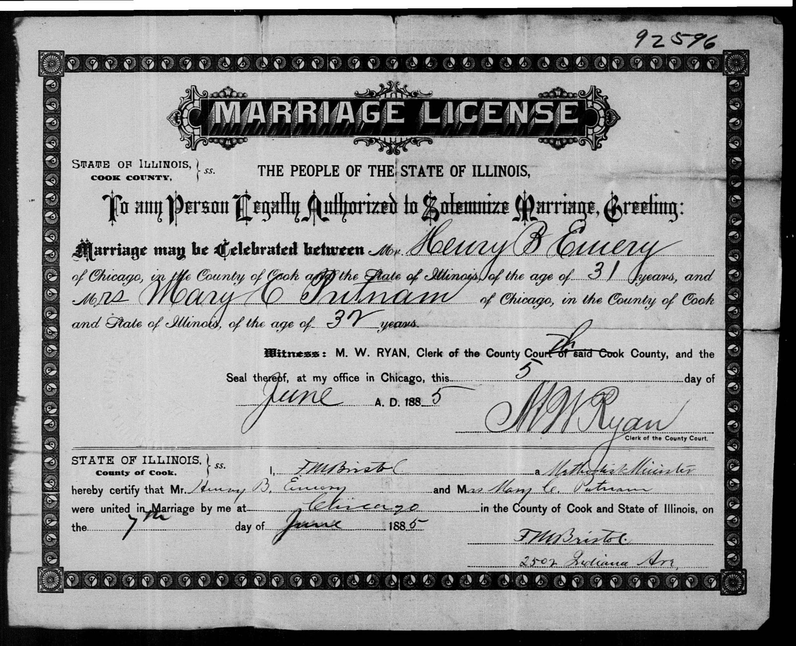 Upper level august 2009 she is mrs mary c putnam on the marriage certificate shes listed as catherine in the 1870 census for illinois while living in the timothy xflitez Image collections