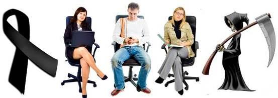 Pasar mucho tiempo sentado es malo para la salud