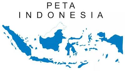 Gambar Peta Indonesia Lengkap dan Terbaru