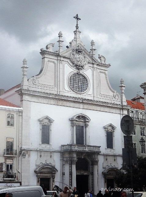 Saint Domingos Church lisbon