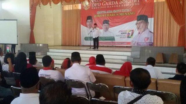 Pelantikan Kader Garda Jokowi Banyak Kursi Kosong, Antasari Azhar Pertanyakan Laporan Panitia