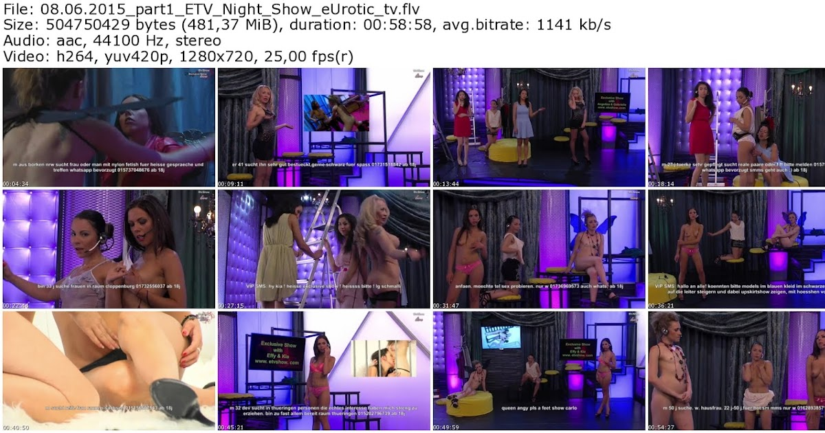 Eurotic tv pussy