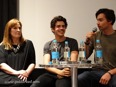 Poldark S3 screening,Harry Richardson, Tom York, Debbie Horsfield