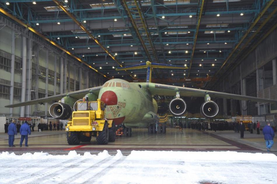 Modernized Russian Il 476 Transport Aircraft Assembled