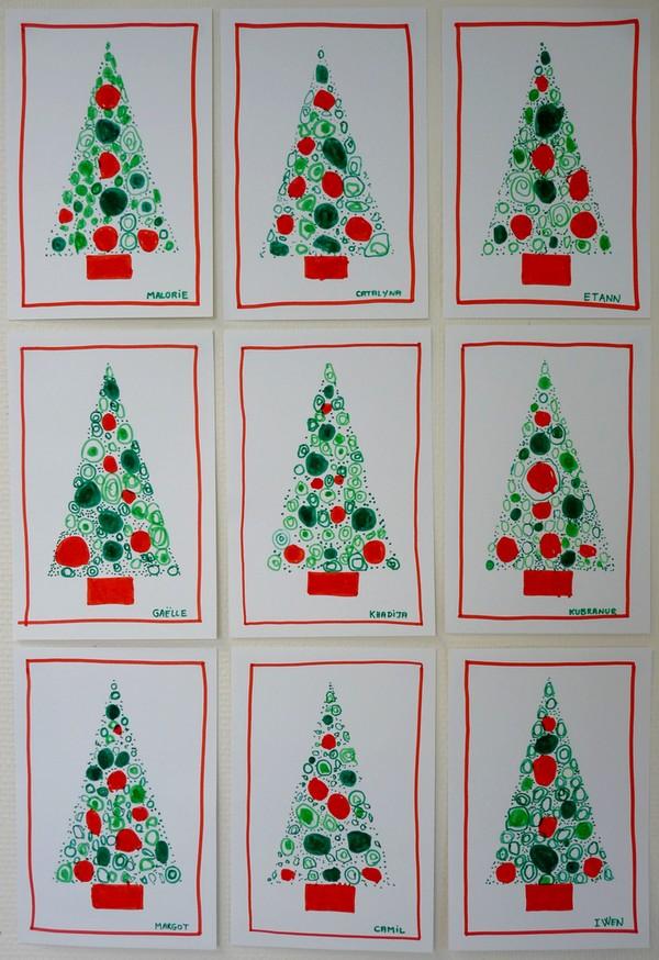 Ma Carte De Noel.Le Journal De Chrys Carte Sapin De Noël