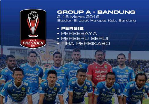 Grup A Piala Presiden 2019 Persib Bandung