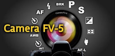 Aplikasi kamera android, aplikasi kamera android seperti DSLR, Aplikasi Camera FV-5
