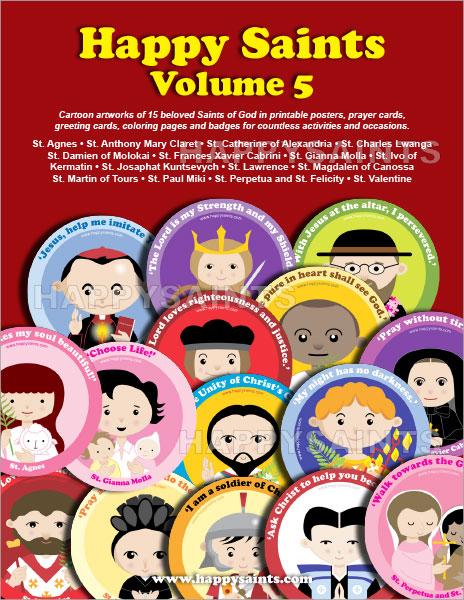 Happy Saints: Happy Saints Volume 5