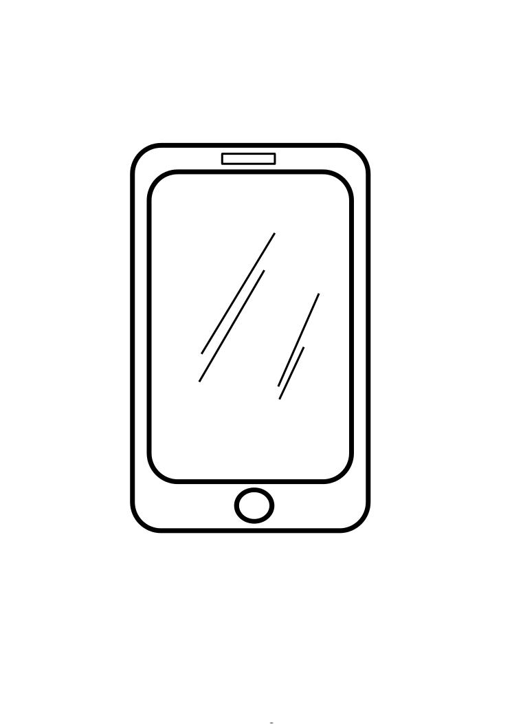 Iphone 4 coloring pages ~ Iphone coloring