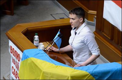 Legisladora ucraniana e heroína de guerra ofende judeus