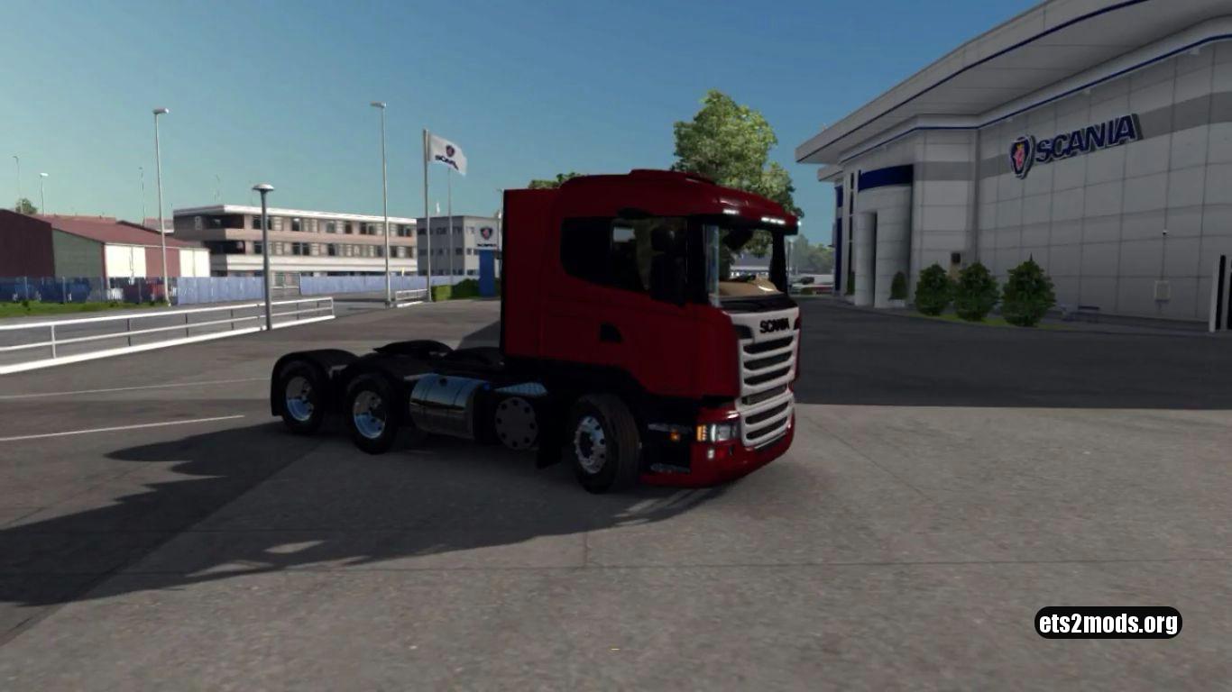 Truck - Scania Streamline R400