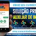 SELEÇÃO PRESENCIAL TEMPORÁRIO PARA AUXILIAR DE INVENTÁRIO SEGUNDA-FEIRA