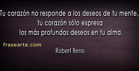 Robert Beno en frases de amor