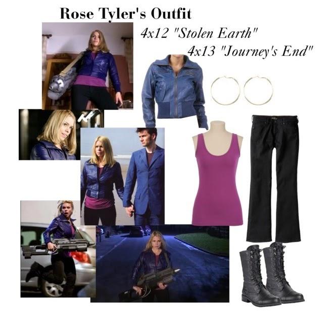 Rose Tyler Costume Write-Up  sc 1 st  Happily Grim & Happily Grim: Rose Tyler Costume Write-Up