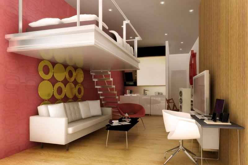 Cute Ideas For Decorating Small Bedrooms Or Studio Type Apartments
