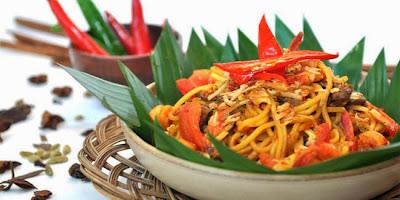 Resep Mie Goreng Pedas Aceh