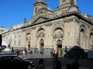 Catedral Metropolitana Santiago de Chile, Santiago de Chile, Chile, vuelta al mundo, round the world, La vuelta al mundo de Asun y Ricardo
