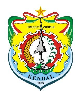 logovectorcdr logo kabupaten kendal