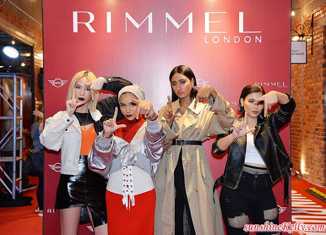 RIMMEL LONDON In Malaysia, Make Up Your Own Rules!