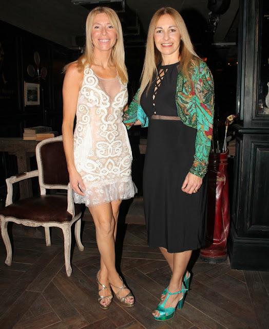 Roxana Salerno y Susana Clur