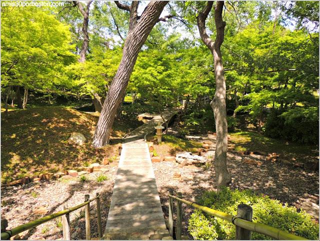 Río Seco del Jardín Japonés de Fort Worth
