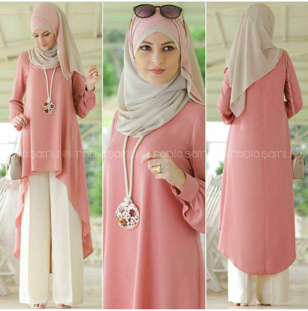 Model Celana Kulot Trend 2019 Muslim Remaja Terbaru Casual Cewek Polos Muslimah