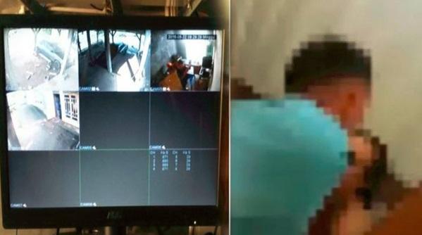 Rakaman CCTV Dedah Perbuatan Jijik Isteri Dan Anak