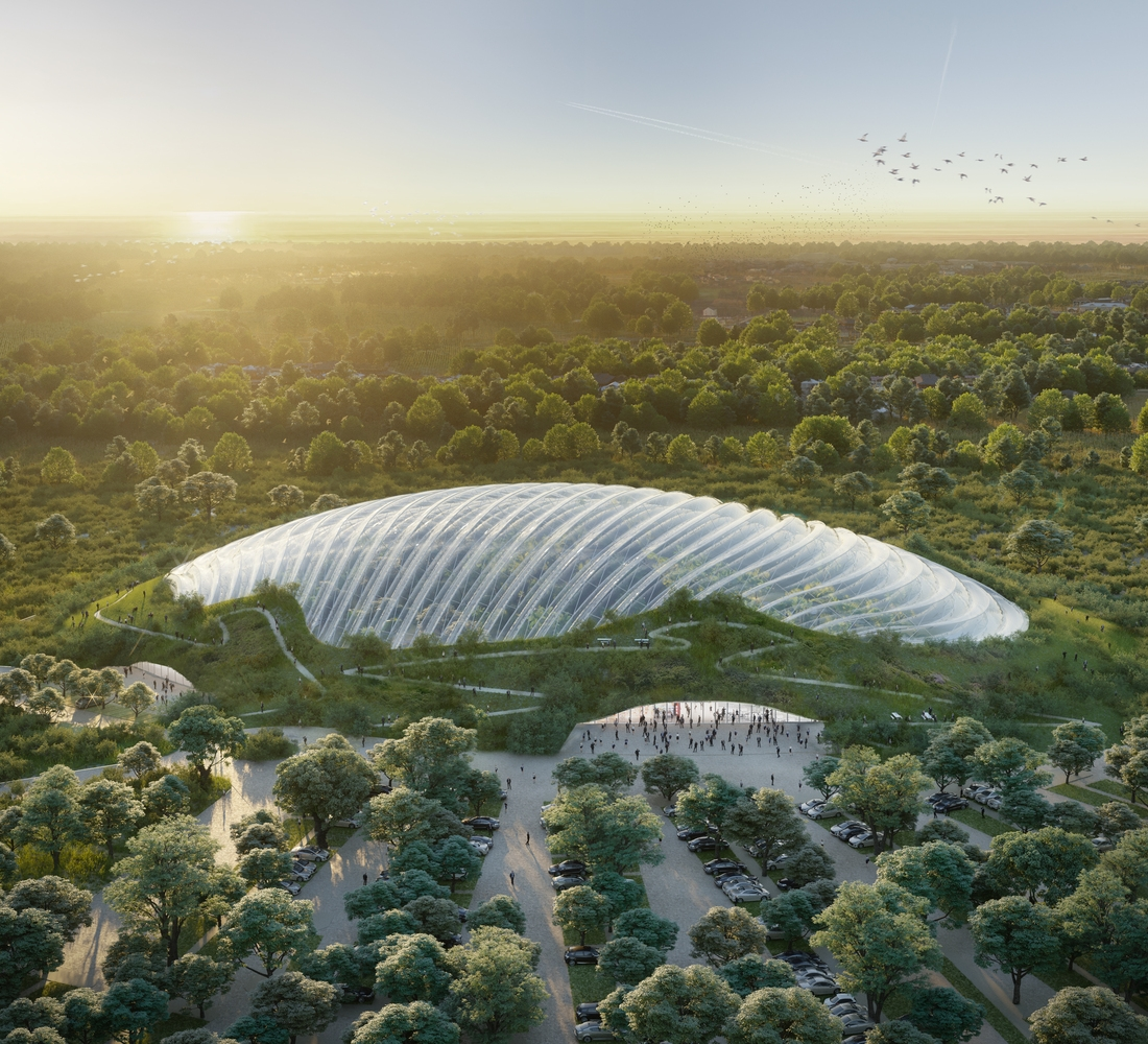 Largest Greenhouse In The World