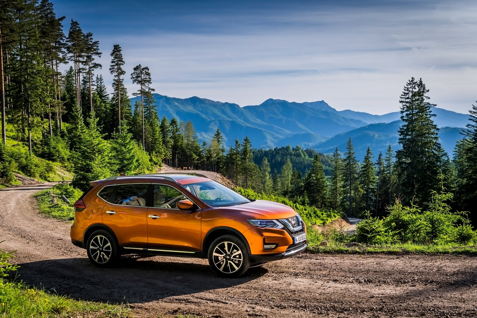 Updated 2017 Nissan X Trail Ready To Hit Europe 30 Pics
