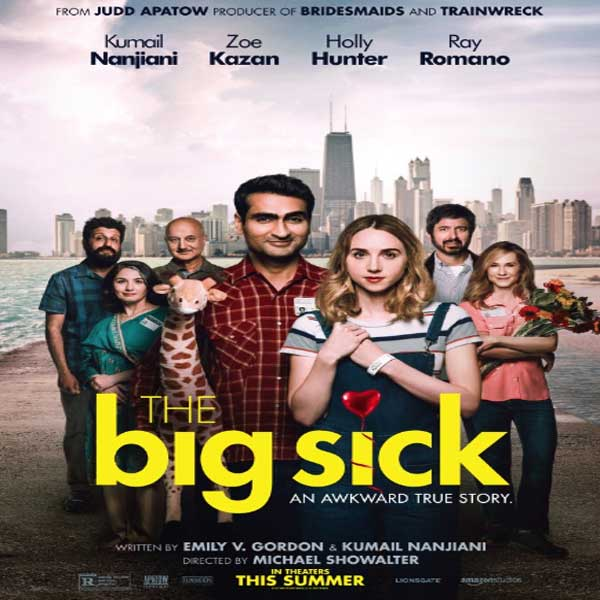 The Big Sick, The Big Sick Synopsis, The Big Sick Trailer, The Big Sick review, The Big Sick Poster