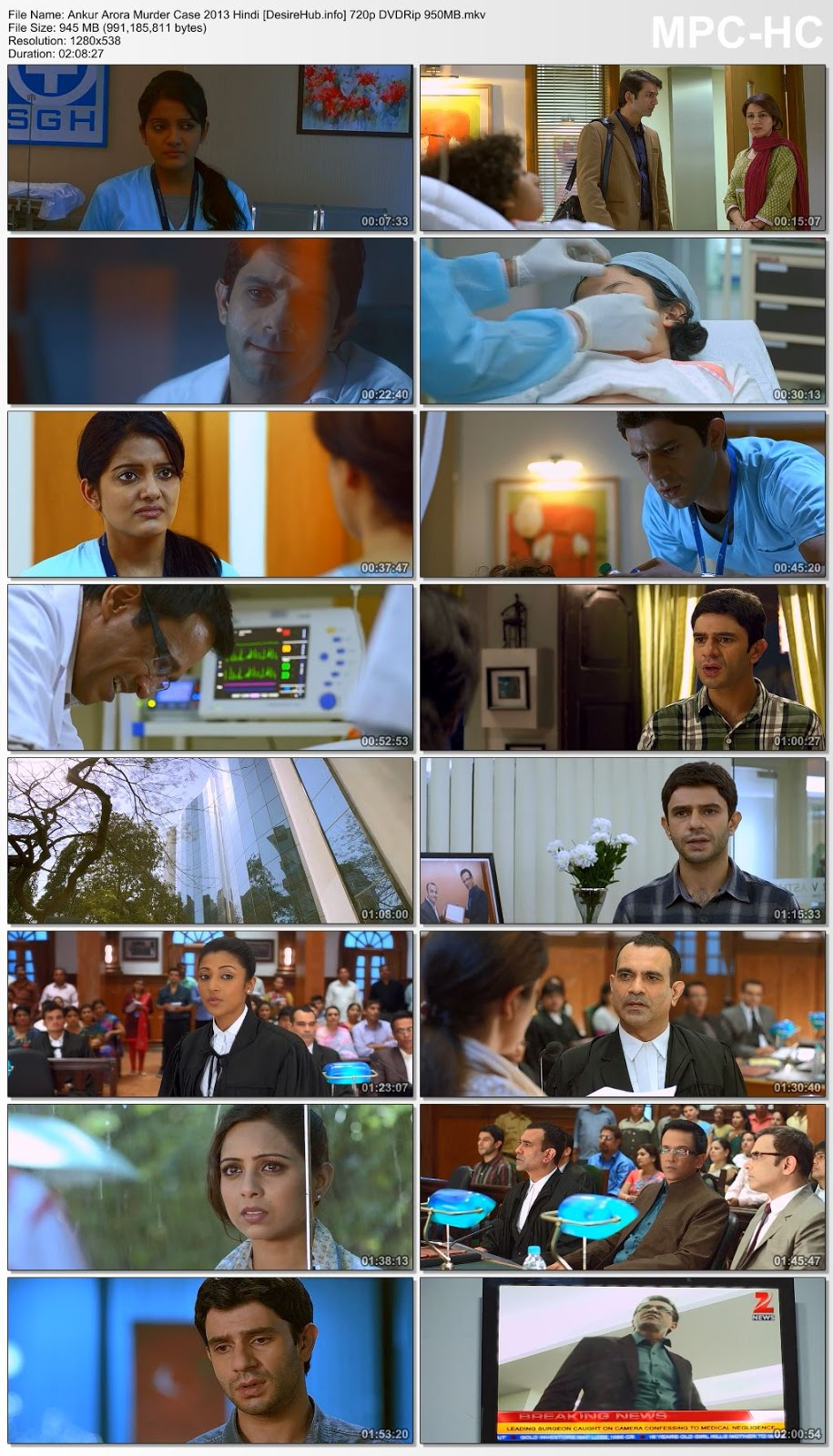 Ankur Arora Murder Case 2013 Hindi 480p DVDRip 350MB Desirehub