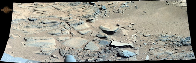 "Sol 317 Curiosity Right Mastcam (M-100) Return to ""Shaler"" 3"