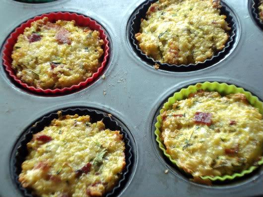 bake quinoa frittatas in the oven