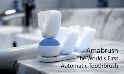 The World's First Automatic Toothbrush, Amabrush