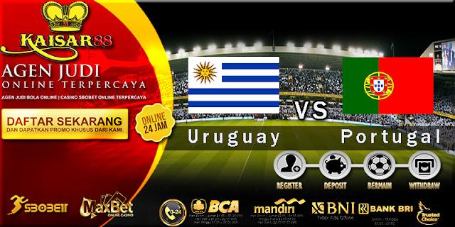 Prediksi Bola Jitu Uruguay Vs Portugal 1 Juli 2018