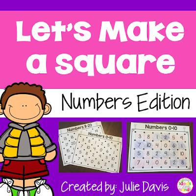 https://www.teacherspayteachers.com/Product/Lets-Make-a-Square-Number-Recognition-0-20-Partner-Game-2703309
