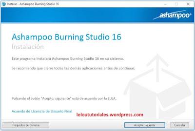 Ashampoo Burning Studio v16.0.6.23 + Crack [Full] [MEGA] [UL]