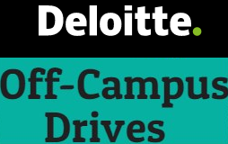 Deloitte Off Campus Drive Registration Form | Apply Now