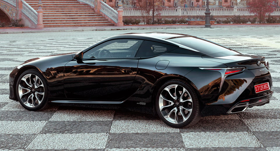 2017 lexus lc v8 hybrid equally priced in the uk starting from 76 595. Black Bedroom Furniture Sets. Home Design Ideas