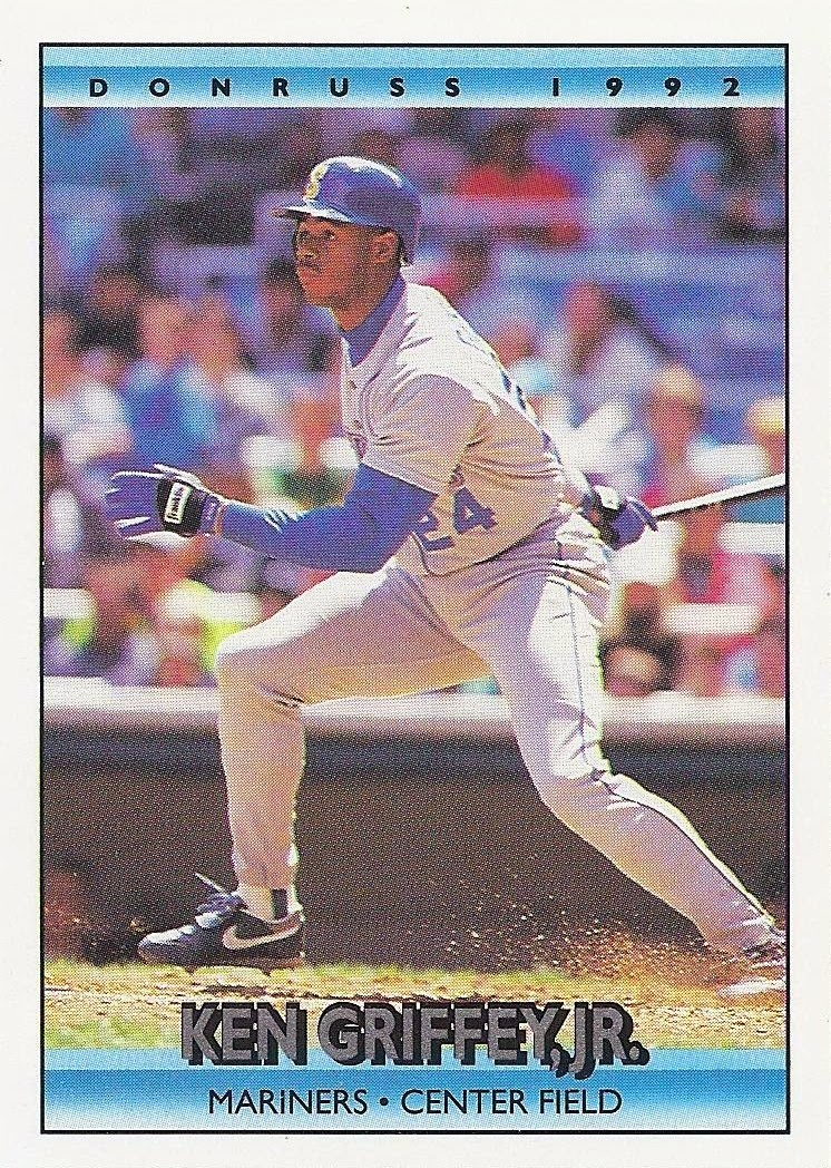 c0afb1d73d The Junior Junkie: the Baseball Cards of Ken Griffey, Jr. and Beyond ...