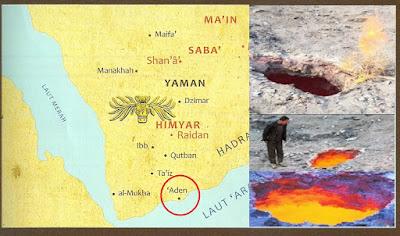Munculnya Api Di Aden Yaman