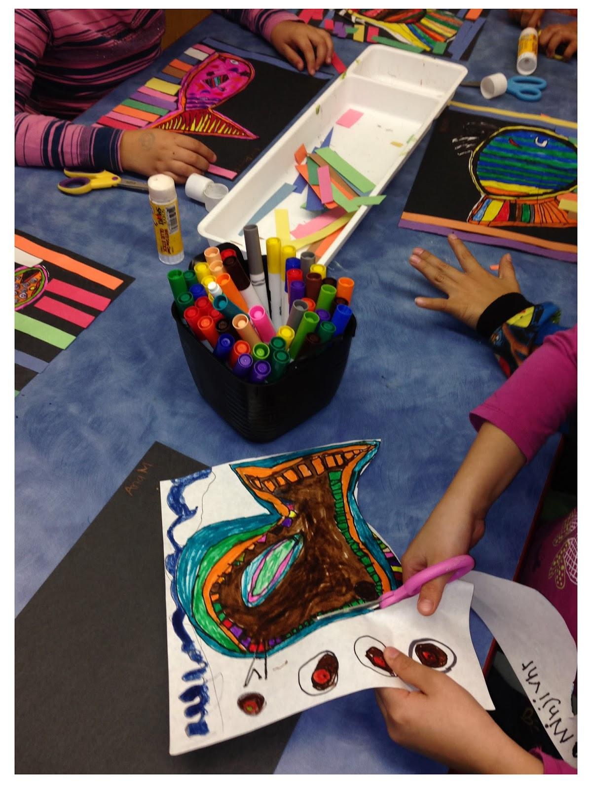 Organized Chaos An Elementary School Art Room Happy