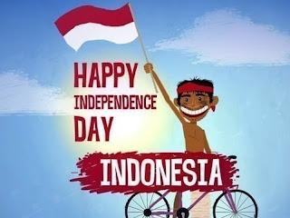 Gambar kata kata Ucapan Kemerdekaan RI 17 Agustus