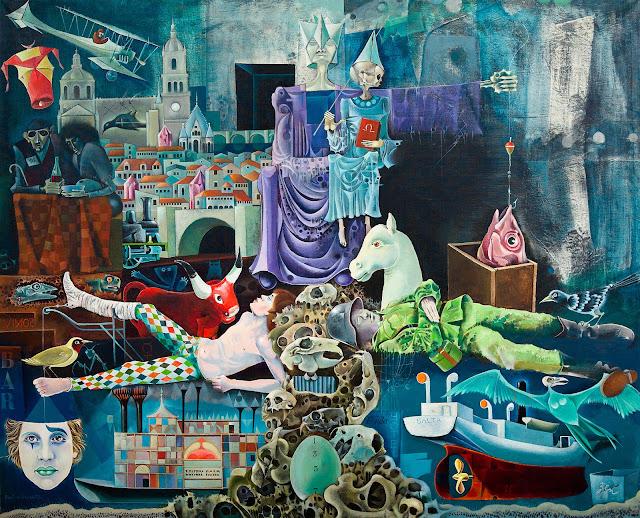 Rovira Brull pintura surrealista salamanca