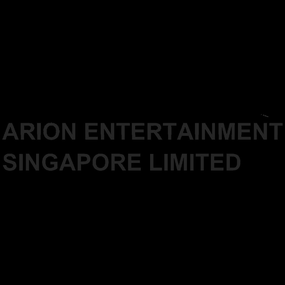 ARION ENTERTAINMENT SPORE LTD (SGX:YYB) @ SGinvestors.io