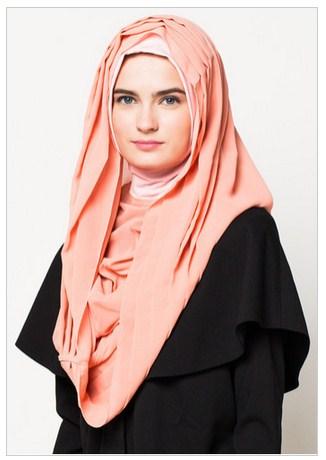 Inspirasi Hijab Lebaran Terbaru 2016