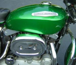 sportster xlh boattail 1970 green
